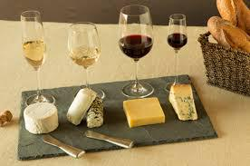 Matching cheese and wine